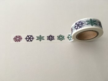 Christmas Washi Masking Tape | Frost Star