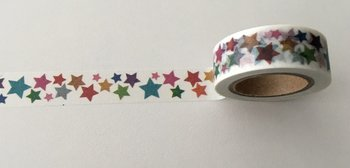 Washi Masking Tape | Rainbow Stars