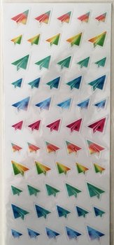 Cardlover Clear Stickers | Paper Planes