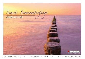 Tushita Postcard Book | Sunsets