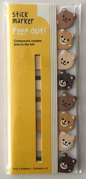 Index Sticky Notes Peep Out | Bears