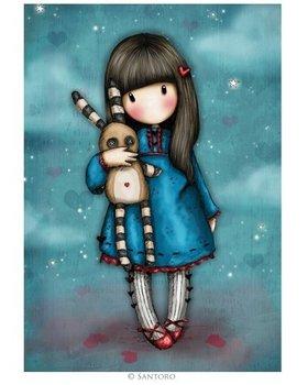 Gorjuss Postcard | Hush Litle Bunny