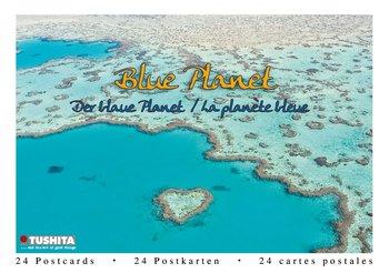 Tushita Postcard Book | Blue Planet