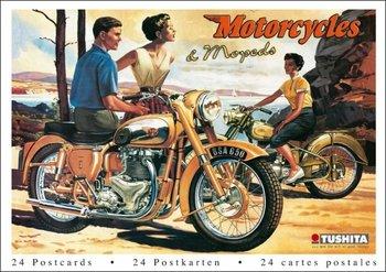 Tushita Postcard Book | Motorcycles & Mopeds