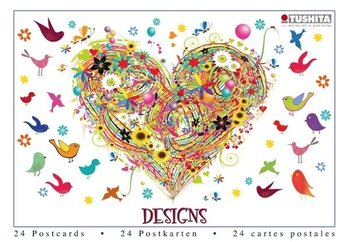 Tushita Postcard Book | Designs