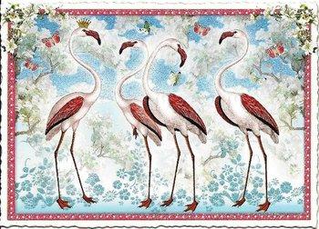 Postcard Edition Tausendschoen | Flamingo Behr Design