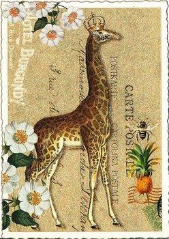 Postcard Edition Tausendschoen | Giraffe