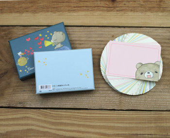 Honey Bear Memocards