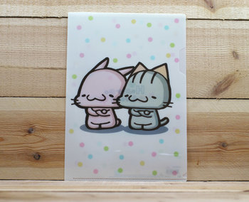 Happy Go Lucky Collection A4 Plastic File Folder