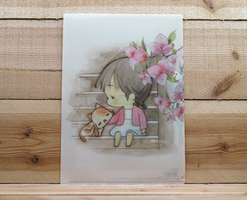 Amy and Tim Collection A4 Plastic File Folder
