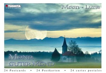 Tushita Postcard Book | Moon