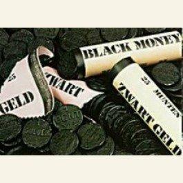 Art Unlimited Postcard | Black Money