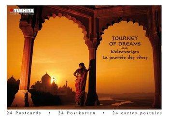 Tushita Postcard Book | Journey of Dreams - Weltenreisen