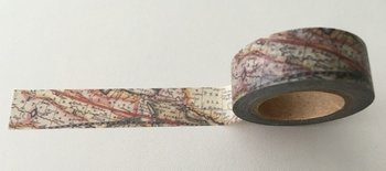 Washi Masking Tape | World Map
