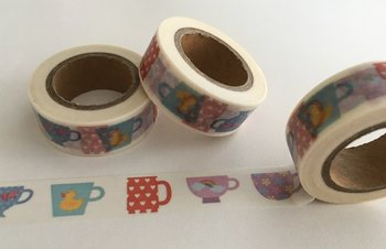 Washi Masking Tape | Different Cups