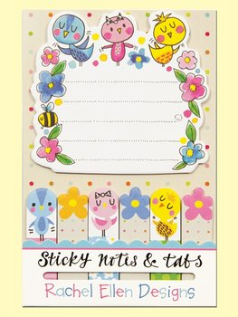Rachel Ellen Designs Sticky Notes and Tabs | Birds and Flowers