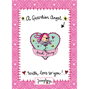 Juicy Lucy Designs Enamel Pin | Bad Fairy Pin
