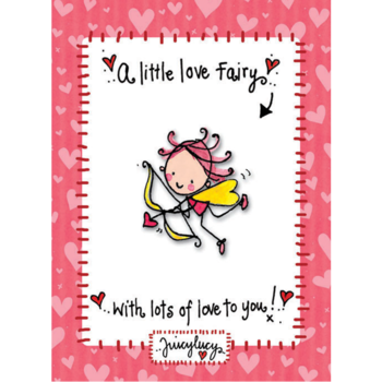 Juicy Lucy Designs Enamel Pin | Love Fairy Pin