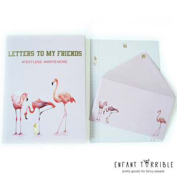 Briefpapier Set Enfant Terrible | Flamingo
