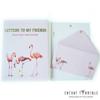 Writing Set Enfant Terrible | Flamingo