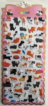 Puffy Epoxy Stickers   Cats