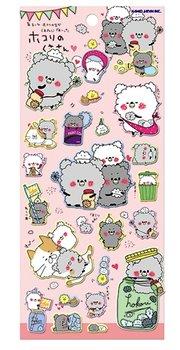 Kamio Puffy Seal Sticker   Hokori