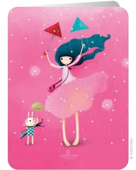 Santoro Eclectic Collection Double Postcard | Under My Umbrella