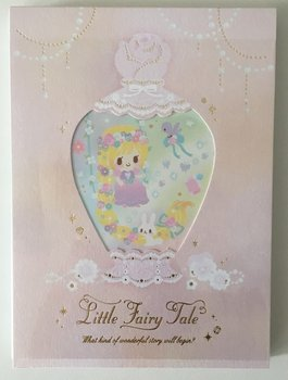 Q-LiA Large Memo Pad Little Fairy Tale | Rapunzel