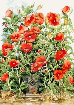 Inge Look Nr. 115 Postcard Garden | Flower