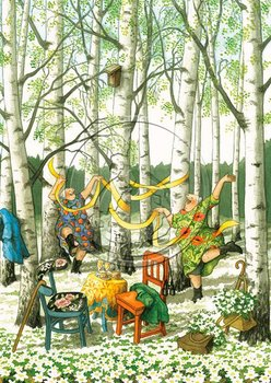 Inge Look Nr 36 Postcard | Old Ladies Aunties