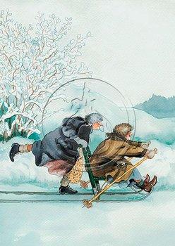 Inge Look Nr. 2 Postcards | Old Ladies Aunties