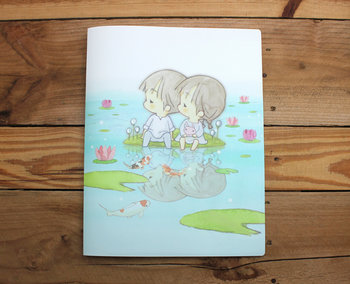 Amy and Tim Collection 6-pocket A4 Plastic File Folder