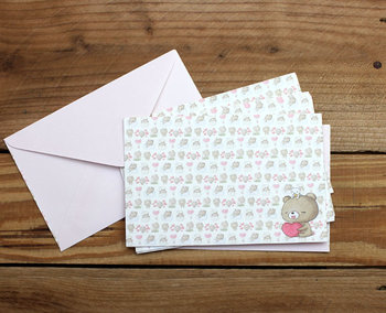 Envelopes Honey Bear