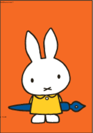 Nijntje Miffy Postcards | Nijntje + vulpen