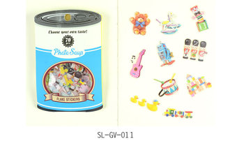 Photo Soup Sticker Flakes Sack | Toys