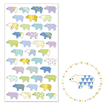 Mindwave Seal Sticker | Copain Copine Polar Bears