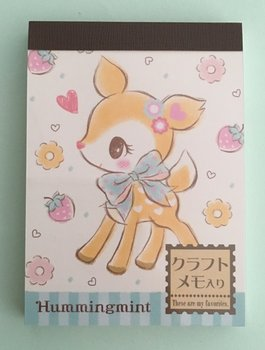 Sanrio Mini Memo Pad Sanrio Japan Exclusive | Hummingmint