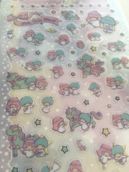 Sanrio Kawaii Diary Planner Seal Stickers | Little Twin Stars