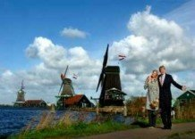 Art Unlimited Postcard | Willem & Maxima in Noord-Holland