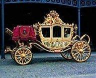 Postcard | Gouden Koets Koningin Wilhelmina
