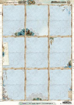ATC Backgrounds / Pocketletter Cards Studio Light | Winter Memories