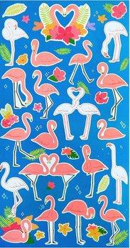 Flamingo Seal Sticker
