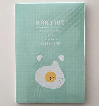 Letter Paper Pad | Bonjour