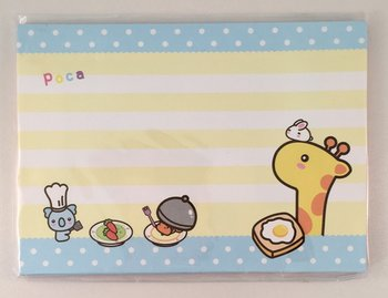Poca Giraffe Envelope Set