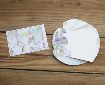 Amy and Tim Memo Notepaper Set