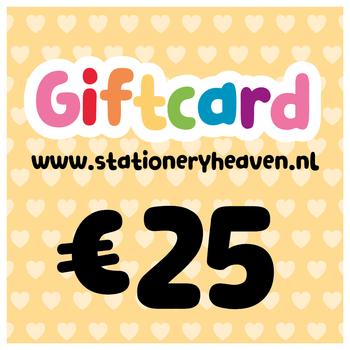 Stationery Heaven Cadeaubon - 25 euro