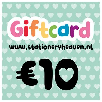Stationery Heaven Cadeaubon - 10 euro