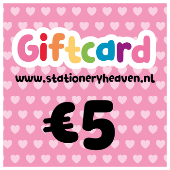 Stationery Heaven Giftcard - 5 euro