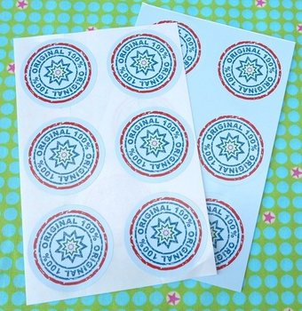 Sealing Stamp Stickers 100% original