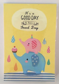 Good Day Medium Memopad | Elephants